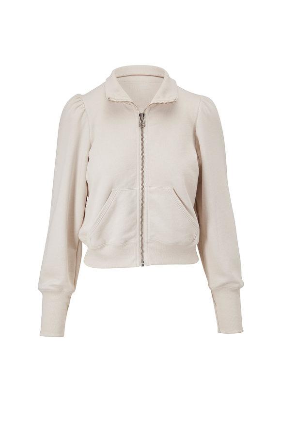 Veronica Beard Siedel Ecru Zip Up Jacket