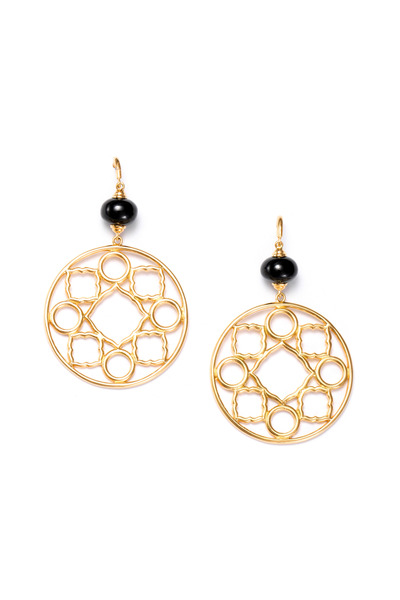 Syna - Gold Mogul Earrings