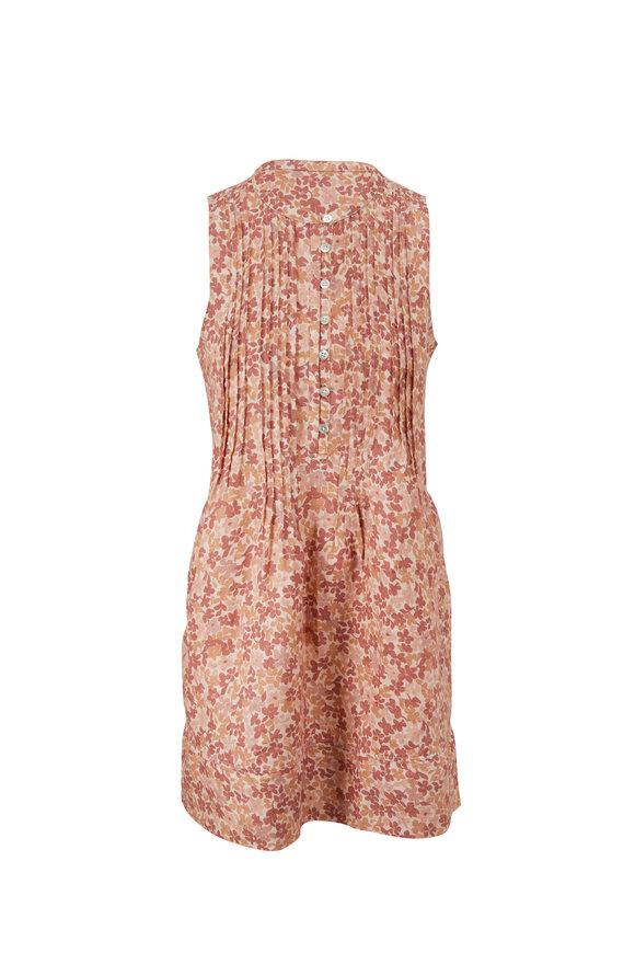 Faherty Brand Isha Figueroa Floral Sleeveless Dress