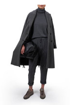 Brunello Cucinelli - Charcoal Gray Cashmere & Silk Spa Pant