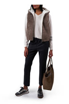 Brunello Cucinelli - Medium Gray Wool Monili Runner