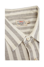 Faherty Brand - Breeze Coastal Sage Short Sleeve Sport Shirt