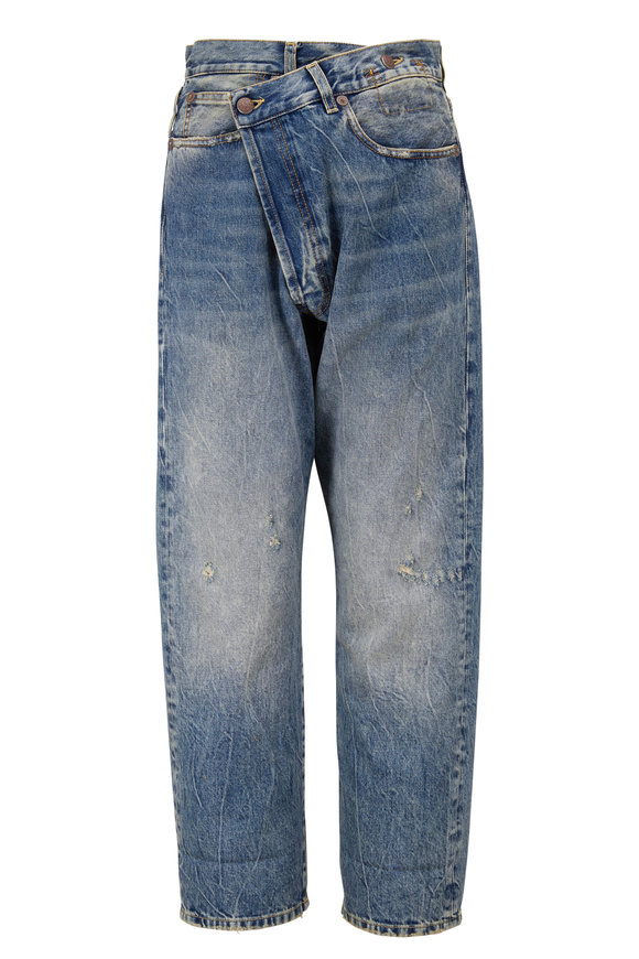 R13 Crossover Kelly Denim Five Pocket Jean