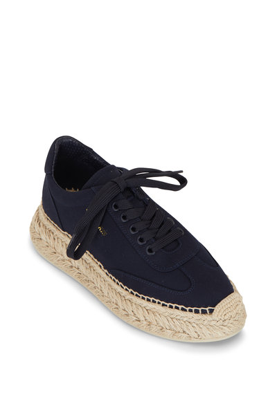 Christian Louboutin - Espasneak Navy Blue Canvas Sneaker