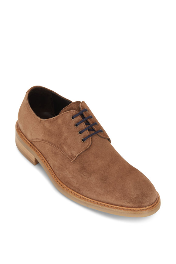 To Boot New York Walsh Mid Brown Suede Oxford