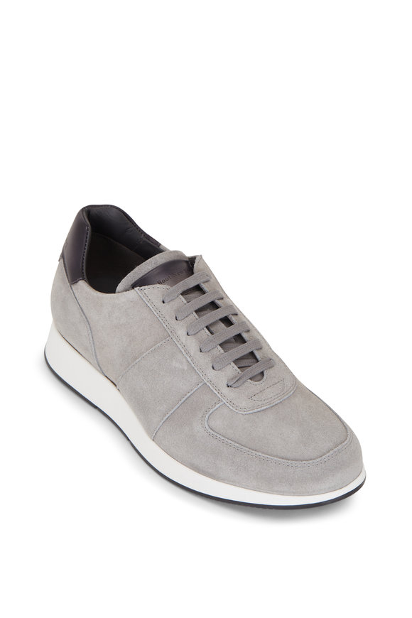 To Boot New York Jules Cement Suede Sneaker