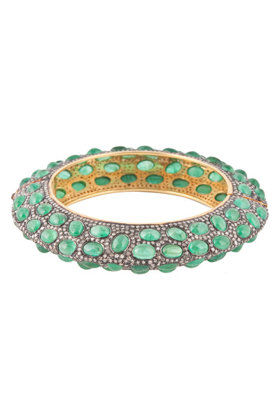 Loren Jewels - Diamond & Emerald Bracelet