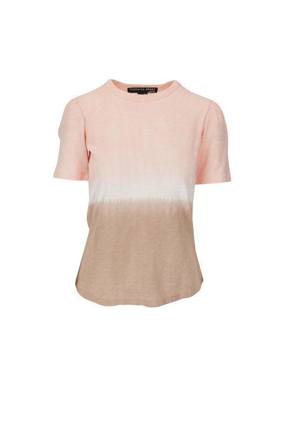 Veronica Beard Callipe Blush Tie-Dye T-Shirt