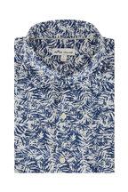 Peter Millar - Whitepalm Blue & White Sport Shirt