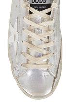 Golden Goose - Super-Star Holographic Leather Sneaker