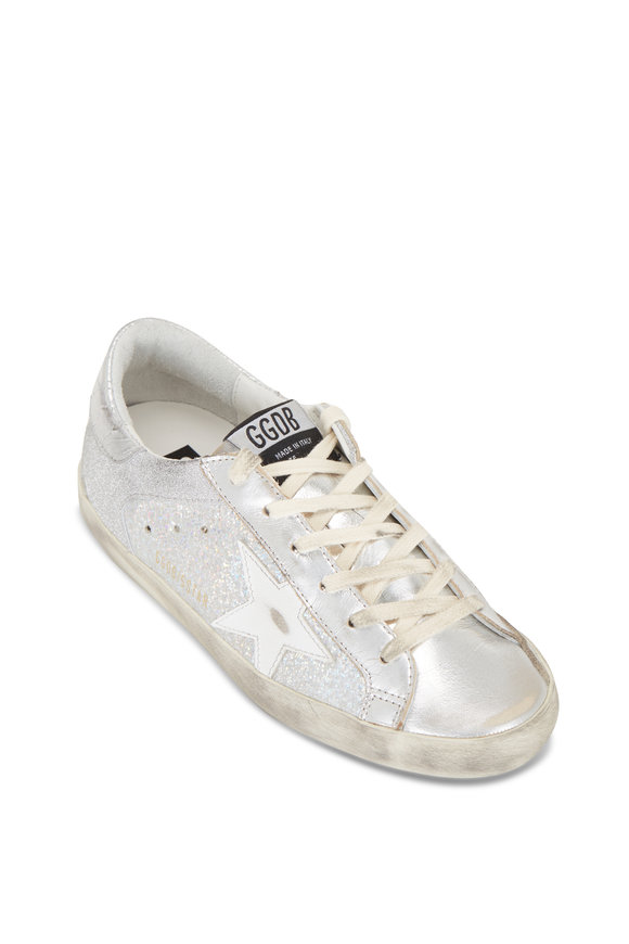 Golden Goose Super-Star Holographic Leather Sneaker