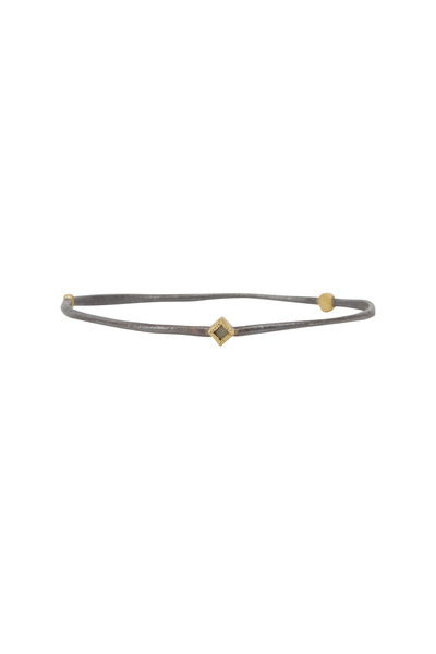 Todd Reed - Gold & Silver Diamond Bangle Bracelet