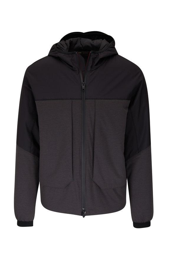 Z Zegna Black & Charcoal Jacket