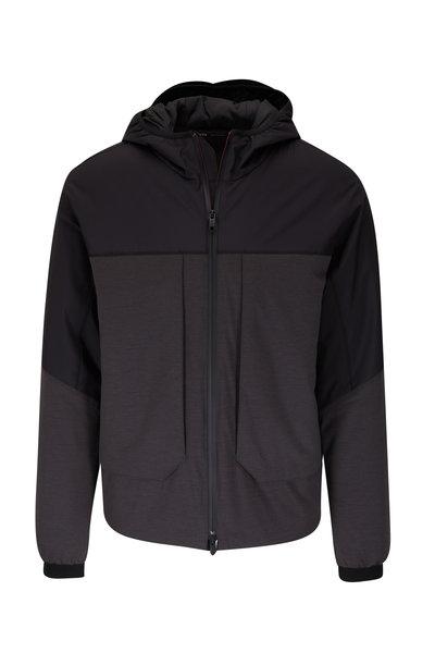Z Zegna - Black & Charcoal Jacket