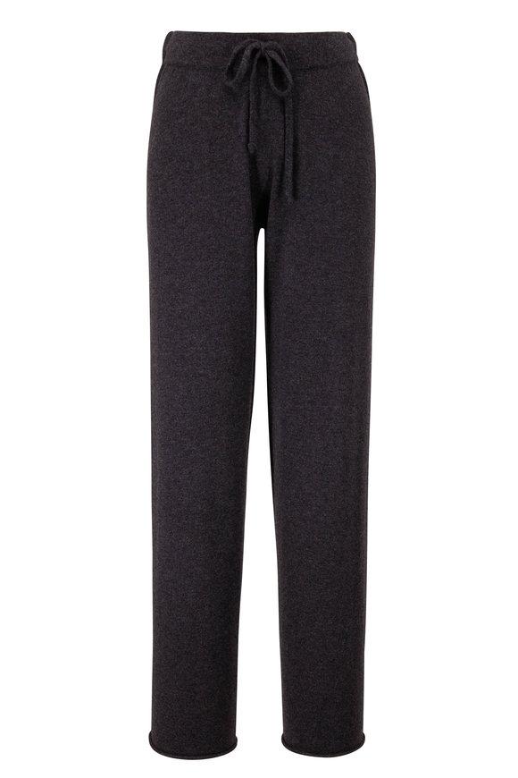 Kinross Charcoal Gray Cashmere Lounge Pant