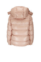 Moncler - Maire Light Pink Shiny Puffer Coat