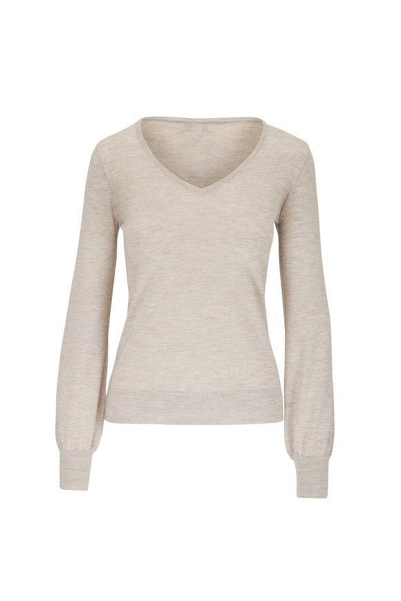 Kinross Agate Worsted Cashmere Sweater