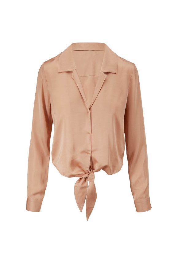 L'Agence Annie Candied Ginger Blouse