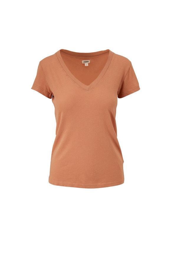 L'Agence Becca Camel T-Shirt