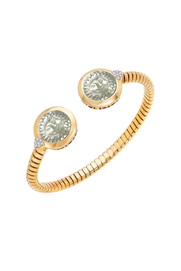 Marina B Soleil Double Mother Of Pearl Sun Bangle