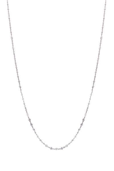 Kwiat - Strings Platinum White Diamond Necklace