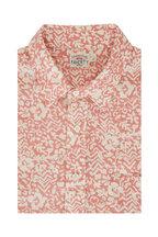 Faherty Brand - Breeze Rose Short Sleeve Sport Shirt