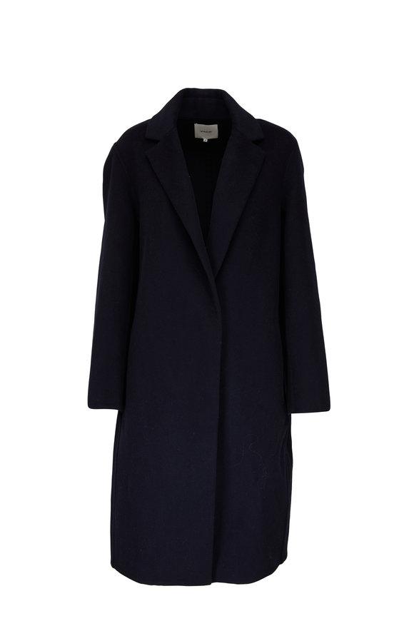 Vince Coastal Classic Wool Blend Coat