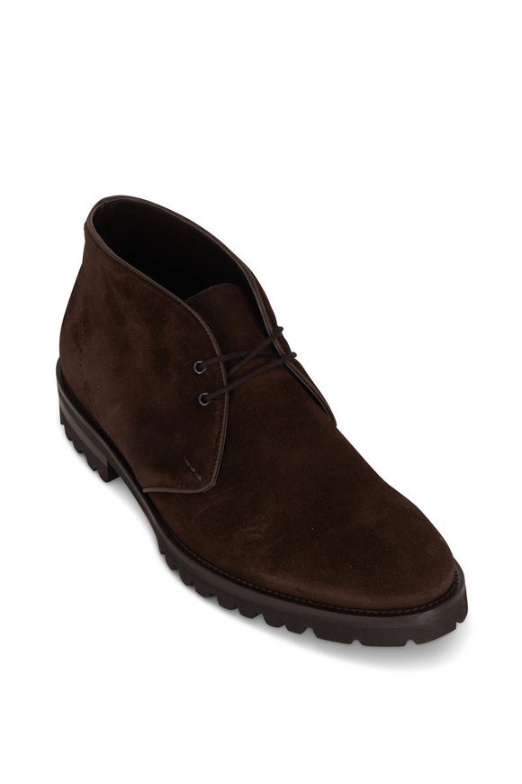 To Boot New York Watson Brown Suede Boot