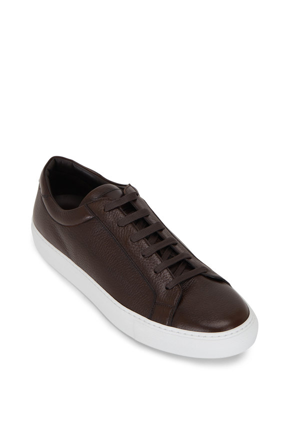 To Boot New York Sierra Brown Cervo Leather Sneaker