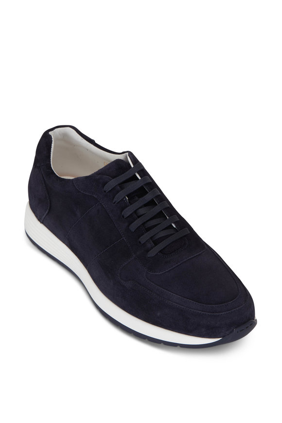 To Boot New York Forest Blue Soft Suede Sneaker