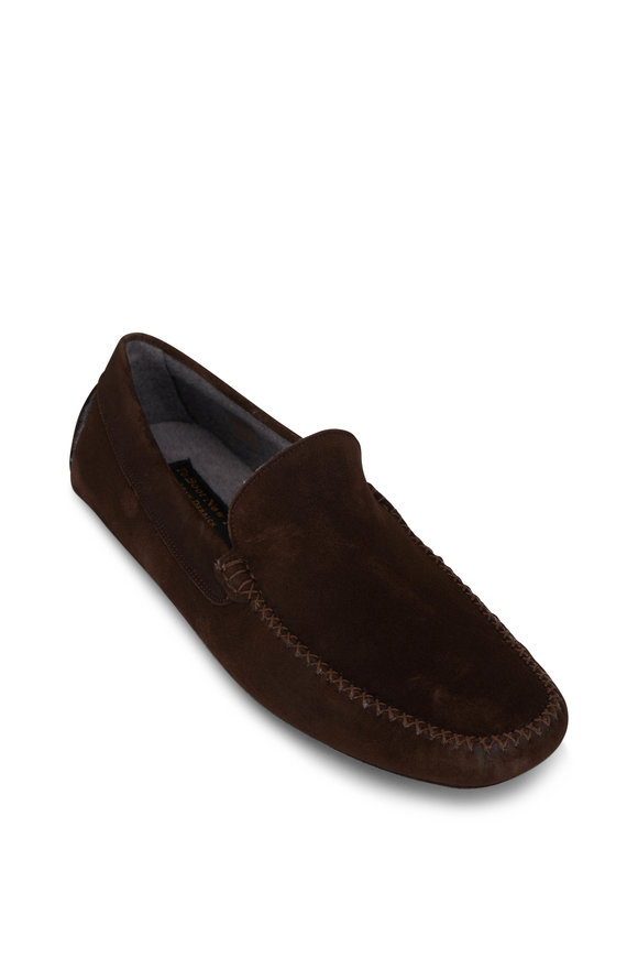 To Boot New York O'Reilly Brown Suede Slipper
