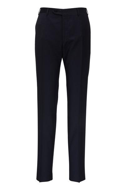 Canali - Navy Wool Pant