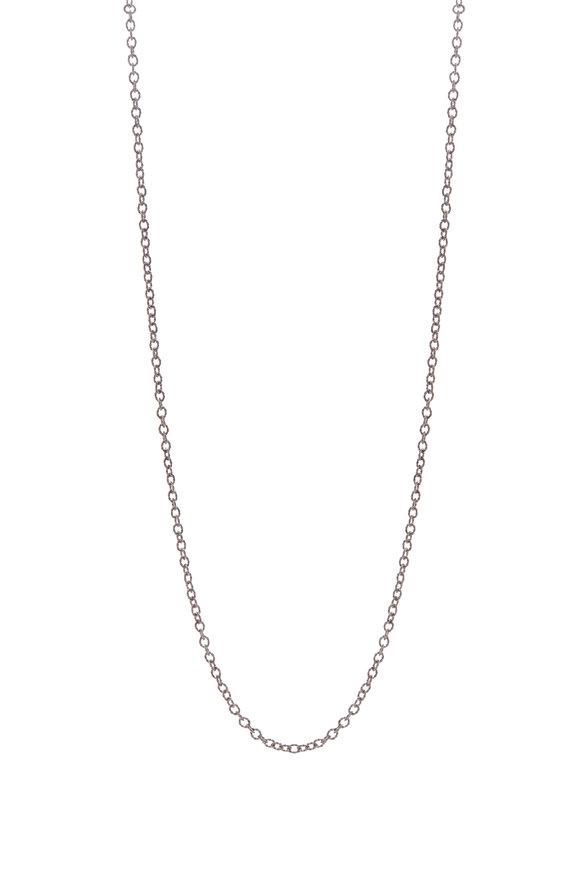 .925Suneera Vintage Finish Silver Link Necklace