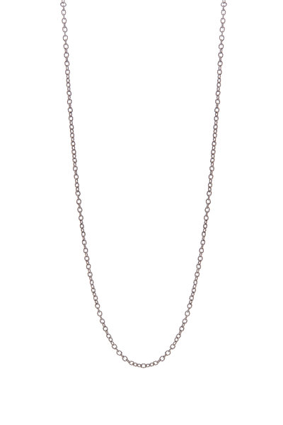.925Suneera - Vintage Finish Silver Link Necklace