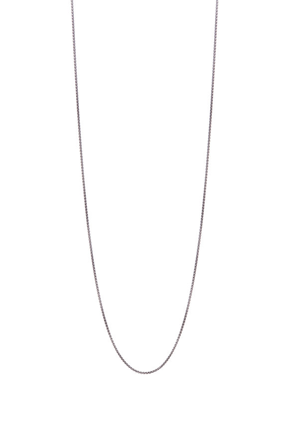 .925Suneera Vintage Finish Rope Chain Necklace