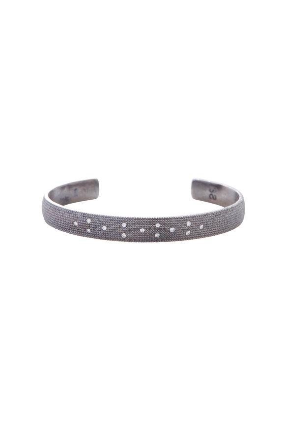 .925Suneera Cay Petite Scattered Diamond Cuff