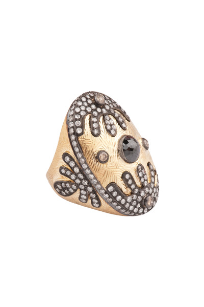 Loren Jewels - Gold Diamond Cocktail Ring