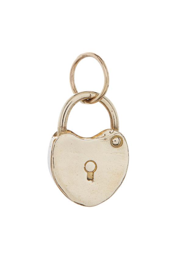 Tina Negri Heart Lock Pendant