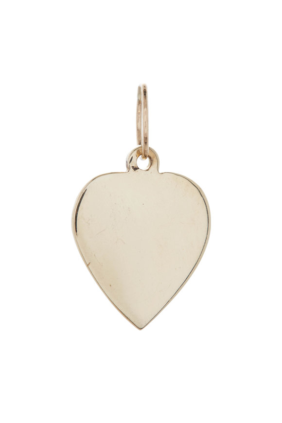 Tina Negri Small Vintage Heart Pendant