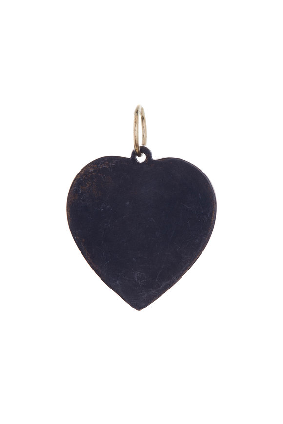 Tina Negri Large Vintage Heart Pendant