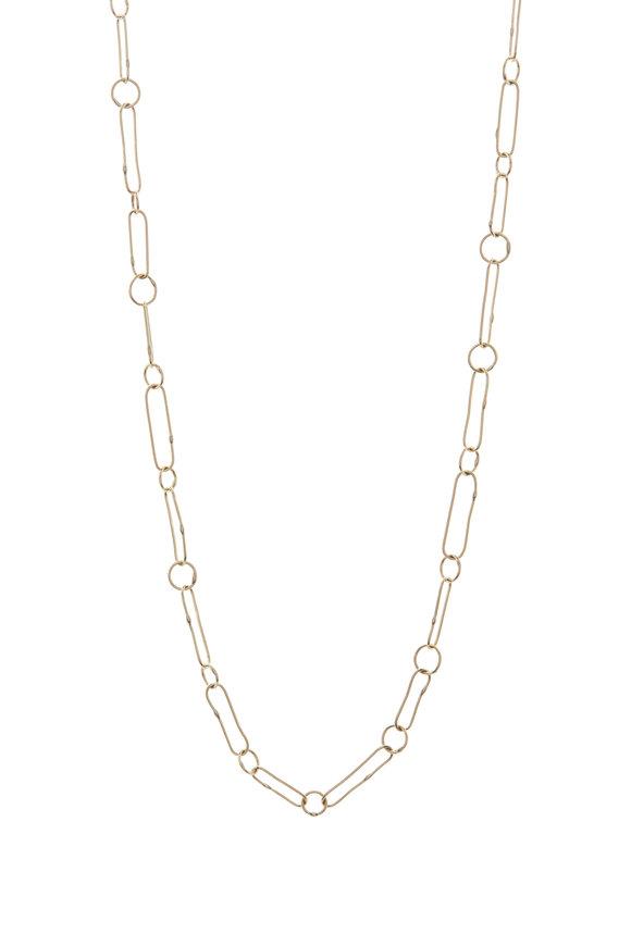 Tina Negri Oval & Round Link Necklace