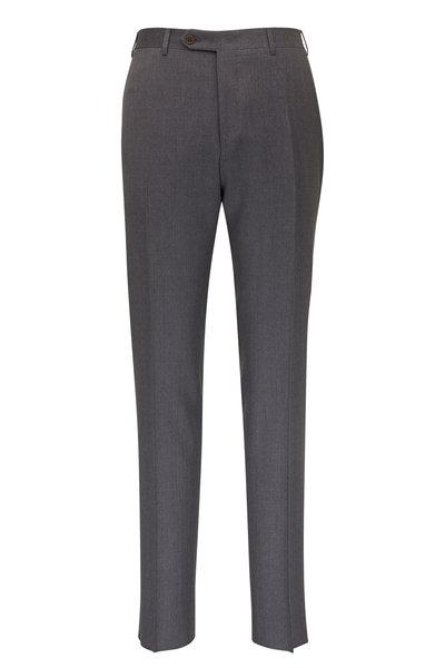 Canali - Medium Gray Wool Pant