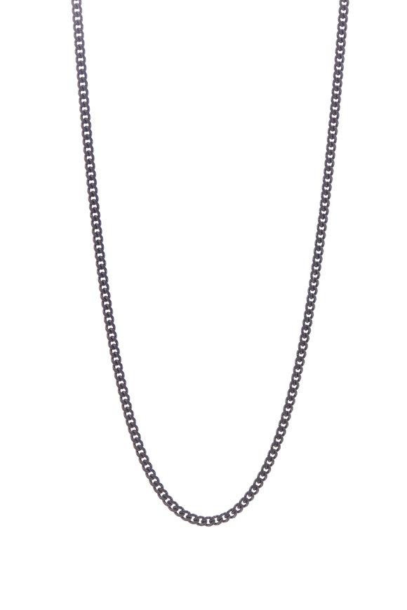 Tina Negri Chunky Curb Chain Necklace