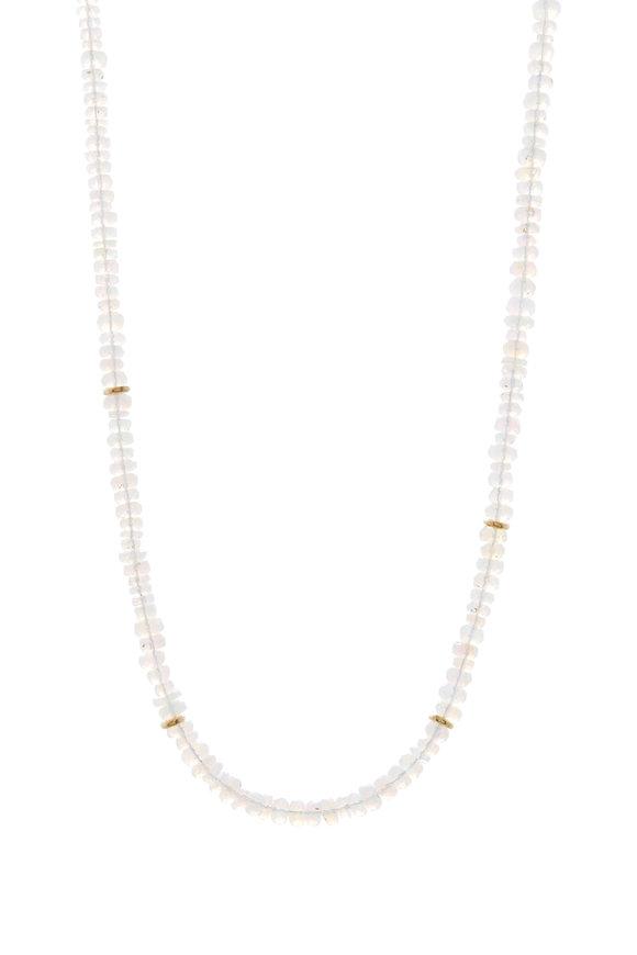 Tina Negri Ethiopian Opal Necklace