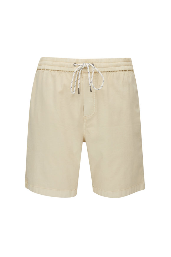 Faherty Brand Essential Golden Straw Drawcord Short