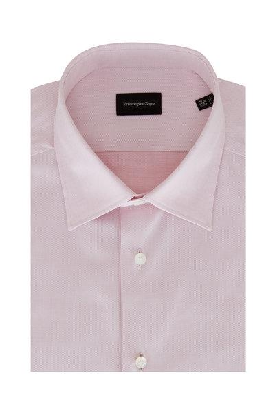 Ermenegildo Zegna - Pink Cotton Sport Shirt