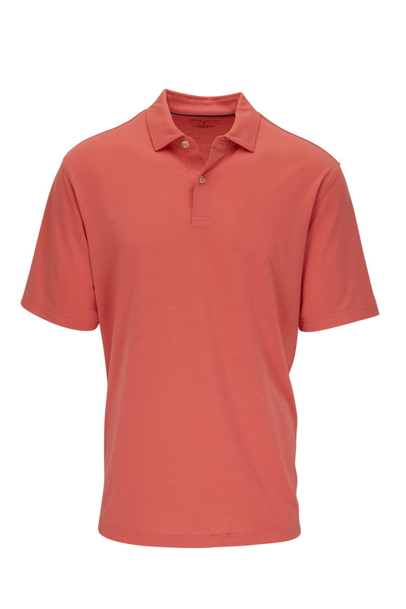 Peter Millar Drirelease® Orange Polo