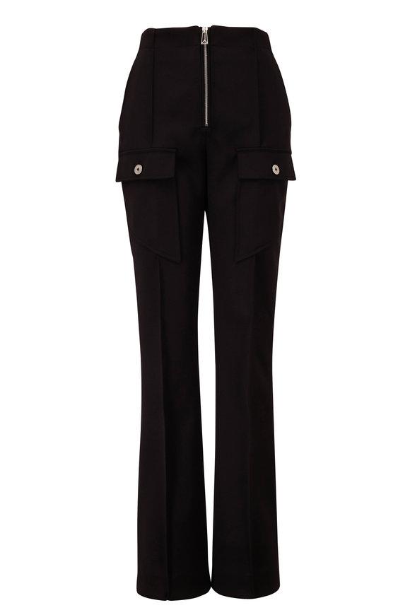 Bottega Veneta Cavalry Black Wool Pant