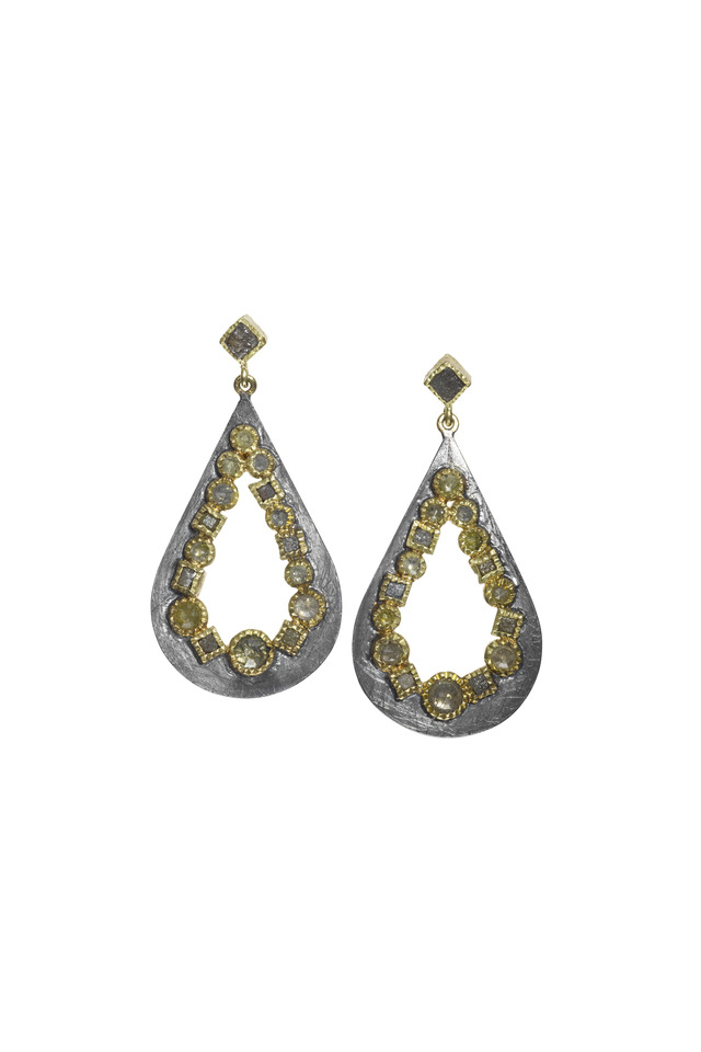 Mosaic Teardrop Earrings