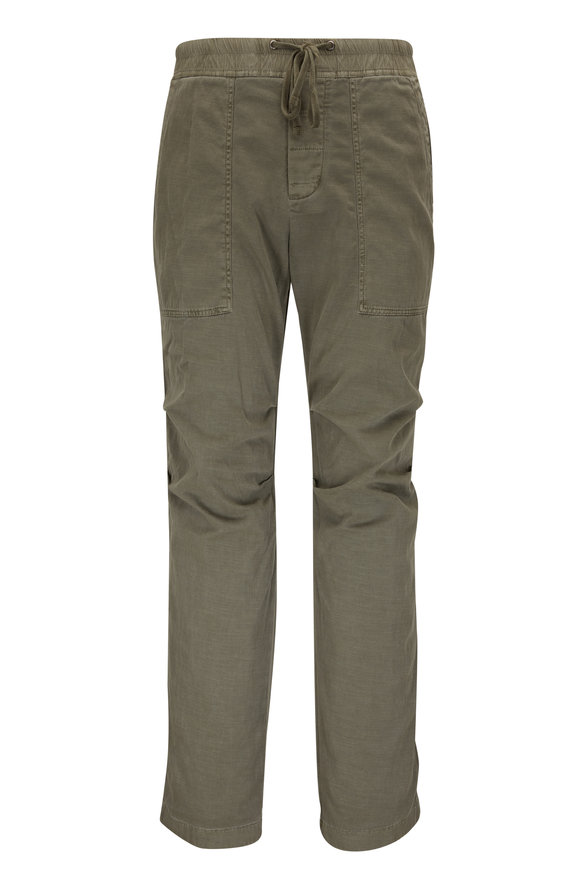 James Perse Slub Fatigue Cotton Utility Pant
